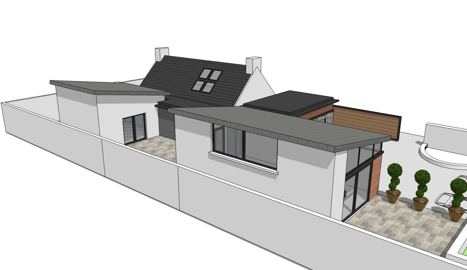 House extension plans for little island cork joe o for Little island design